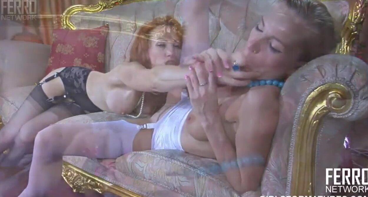 гламурные лесбиянки порно