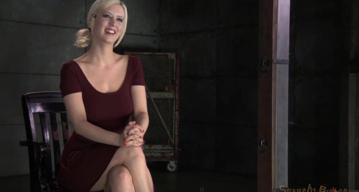 Секс с жаркой блондинкой 27 фотография